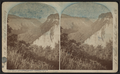 High Banks below Lower Fall, Portage, N.Y, by Walker, L. E., 1826-1916.png