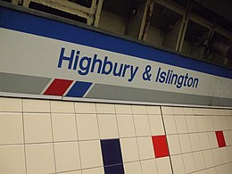 Highbury & Islington stn Great Northern signage1.JPG
