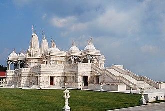 BAPS Shri Swaminarayan Mandir Atlanta - Image: Hindutempleatlanta