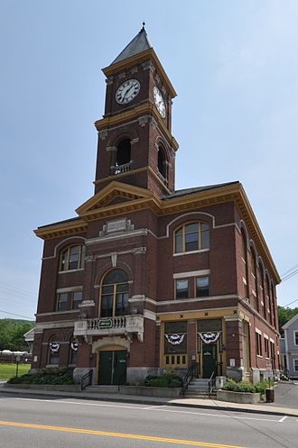 Hinsdale, New Hampshire - Town Hall