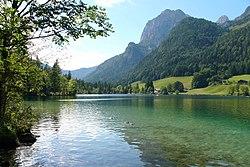 Os Alpes vistos da Baviera.