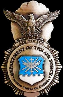 Historical USAF Air Police Badge