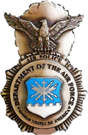 Air Force Security Police Badge - Former U.S. Air Force Air Police Shield