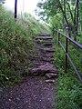 Hlubočepy, schody u železničního zářezu.jpg