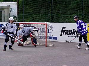 Street hockey - Organized ball hockey league in Czech Republic (team Svítkov Stars)