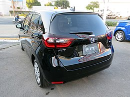 Honda FIT e:HEV HOME 2WD (6AA-GR3) rear.jpg