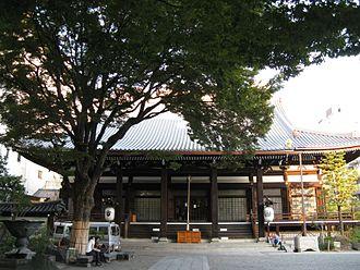 Honnō-ji - Honnō-ji main hall