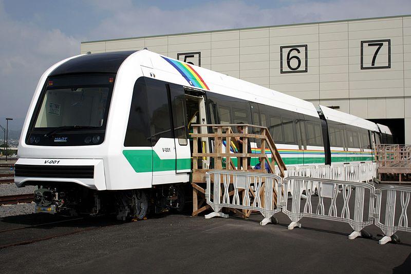 File:Honolulu Rail Transit First Trainset 2017-02-18.jpg