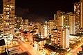 Honolulu at night (from Hyatt regency) - panoramio.jpg