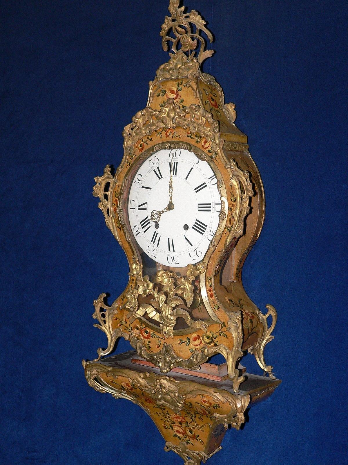 Geschichte der zeitmessger te wikipedia for Relojes de salon modernos