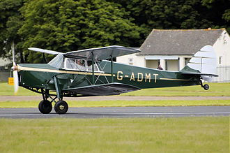 De Havilland Hornet Moth - 1936 de Havilland DH87B Hornet Moth