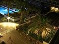 Hotel Blue Sea Beach, Main Bar by Night - panoramio.jpg