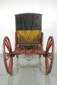 Hovvagn berlinare CXV, bakifrån - Livrustkammaren - 39585.tif