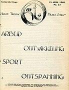 vanaf maart 1940