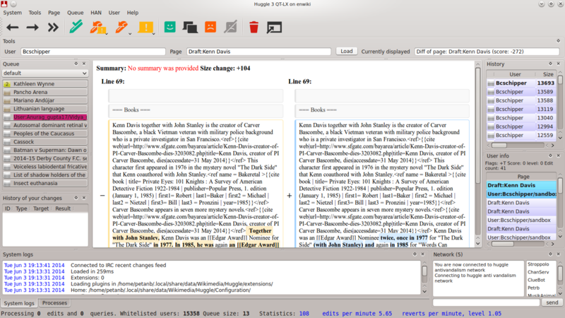 File:Huggle3 kde ubuntu.png