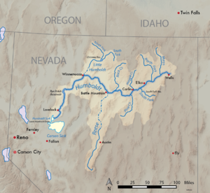 Joseph R. Walker - Watershed of the Humboldt River