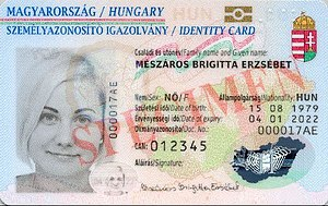 Visa requirements for Hungarian citizens - A Hungarian identity card is valid for travel to most of the European countries