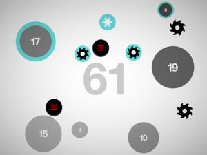Hundreds (video game) - Image: Hundreds (video game) Level 61