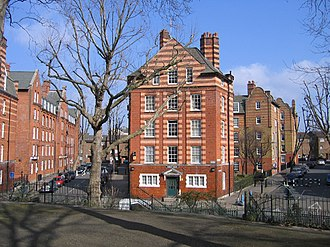 Boundary Estate - Hurley House from Arnold Circus, 2006