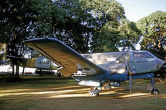 Museo Nacional de Aeronáutica de Argentina - IA 35 Huanquero, Aeroparque Jorge Newbery, 1975