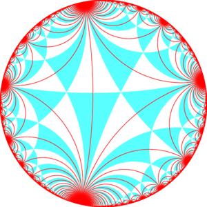Truncated triapeirogonal tiling - Image: I32 symmetry 0bb