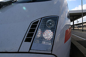 ICE T - LED matrix headlights on a second batch class 411