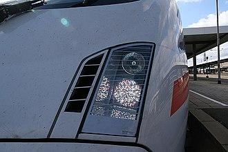 ICE T - LED matrix headlights on a second batch class 411
