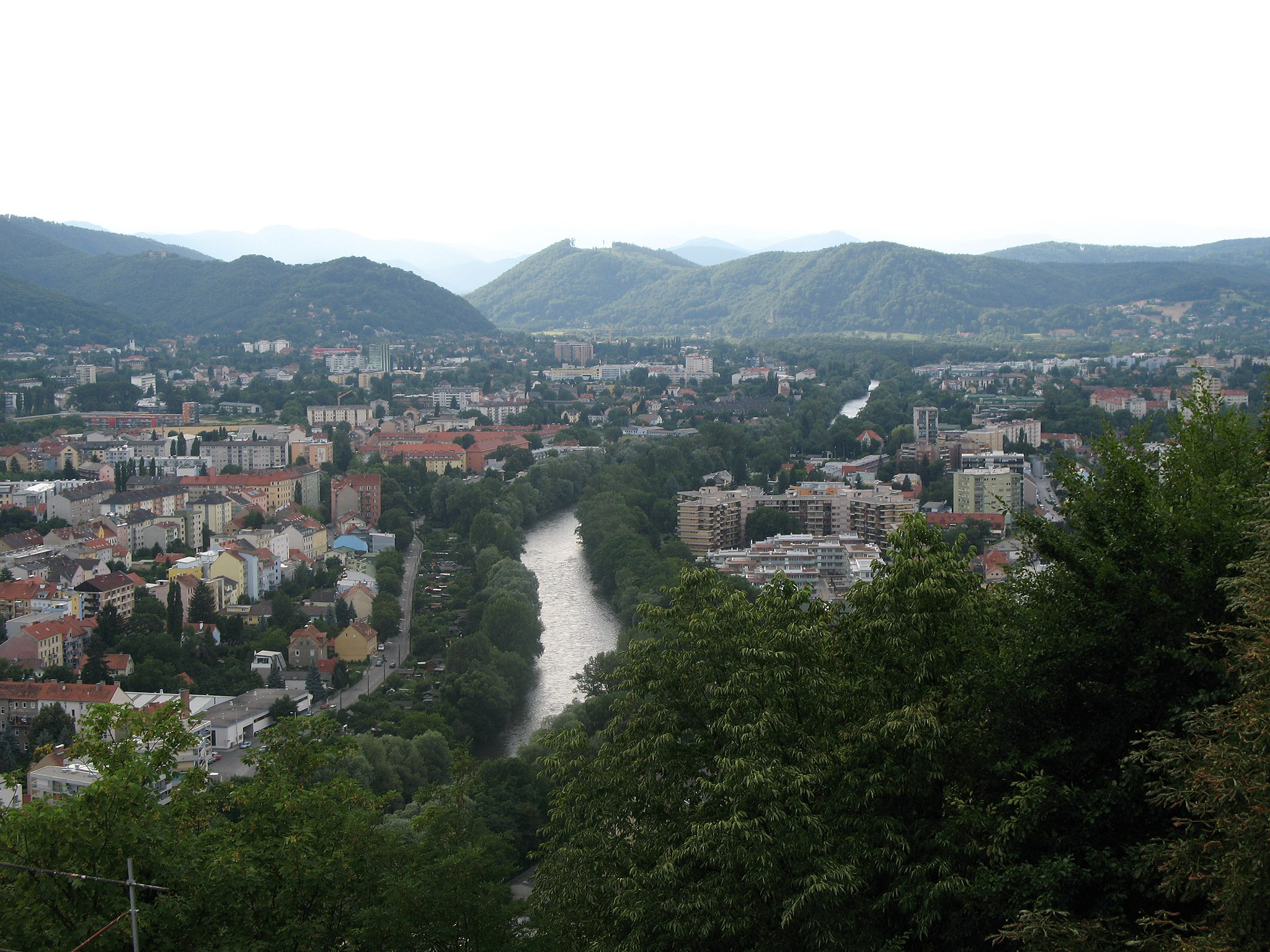 IMG 0498 - Graz - View from Schlossberg