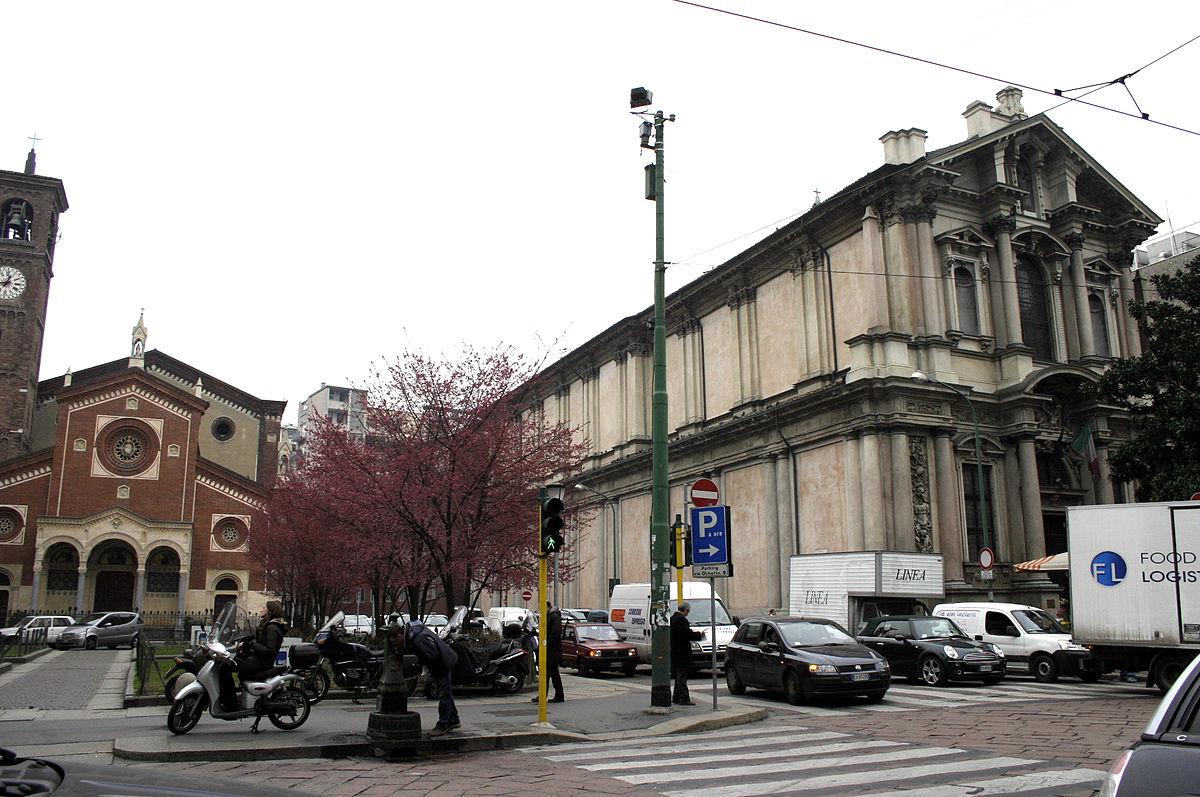 Chiesa di san paolo converso wikipedia for Corso di grafica milano