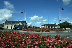 The roundabout at Knock