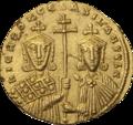 INC-3041-r Номисма стамена. Никифор II Фока, Василий II, Константин VIII. Ок. 963—969 гг. (реверс).png