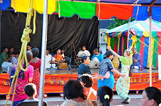 Ethnic groups in Baltimore - Festival of India in Baltimore, May 2009