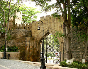 Old City (Baku) - One of the gates of İcheri Sheher