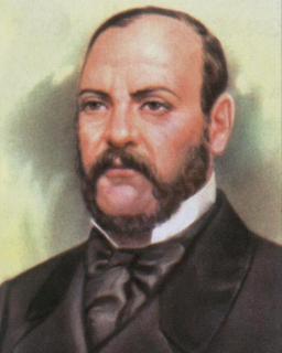 Ignacio Comonfort President of Mexico