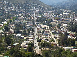 Illapel City and Commune in Coquimbo, Chile