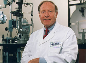 National Eye Institute -  Image of Dr. Carl Kupfer By the National Eye Institute