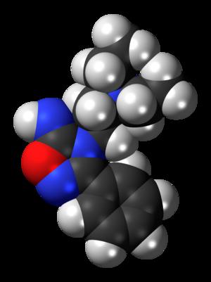 Imolamine - Image: Imolamine 3D spacefill