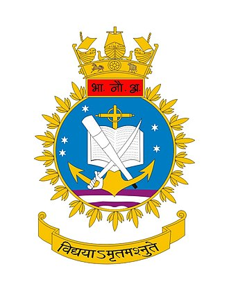 Indian Naval Academy - Image: Indian Naval Academy Crest