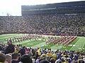 Indiana vs. Michigan football 2013 02 (Indiana band).jpg