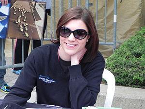 Katherine Legge - Legge at the 2013 Indianapolis 500