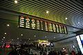 Information board in Floor B1, Ningbo Railway Station.jpg