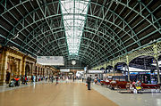 Inside central railway station. sydney