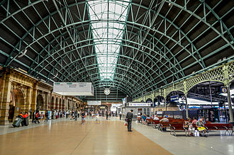 Sydney Trains - The concourse of Central railway station, the main station on the Sydney Trains network that opened in its present location in 1906