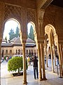 Inside courtyard Alhambra Palace.jpg