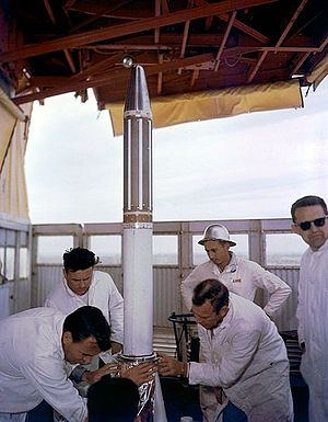 Creation of NASA - Explorer 1 installed in 1958