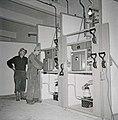 Installation of power breakers in Rekvatnet power plant.jpg