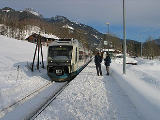 Veolia Transport - The Bayerische Oberlandbahn near Munich is operated by Veolia.