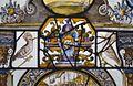 Interieur, glas-in-loodpaneel met gebrandschilderd glas, detail - Doorn - 20362536 - RCE.jpg