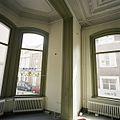 Interieur, zicht op de sierlijst tussen de linker voorkamer en de erker - Tilburg - 20388645 - RCE.jpg