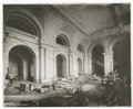 Interior work, Astor Hall - completed arches on the north and west sides, and the vault (NYPL b11524053-489564).tiff